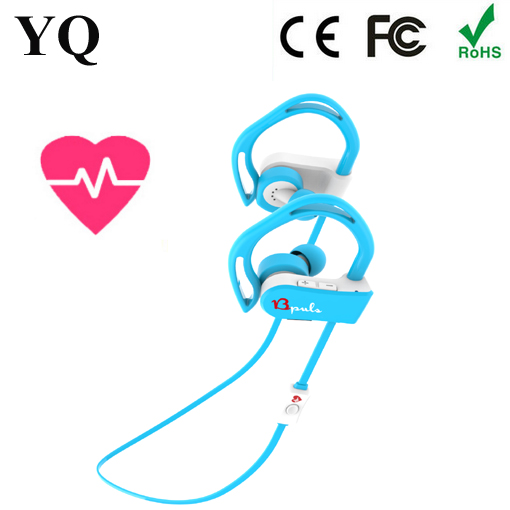2016 newest Sport Pulse bluetooth csr 4.0 headset HEART RATE MONITOR from YQ
