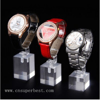 Alibaba China acrylic smart wrist watch display case