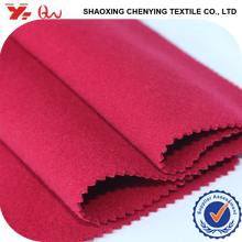 100% P double brushed fake wool fabric for winter coats