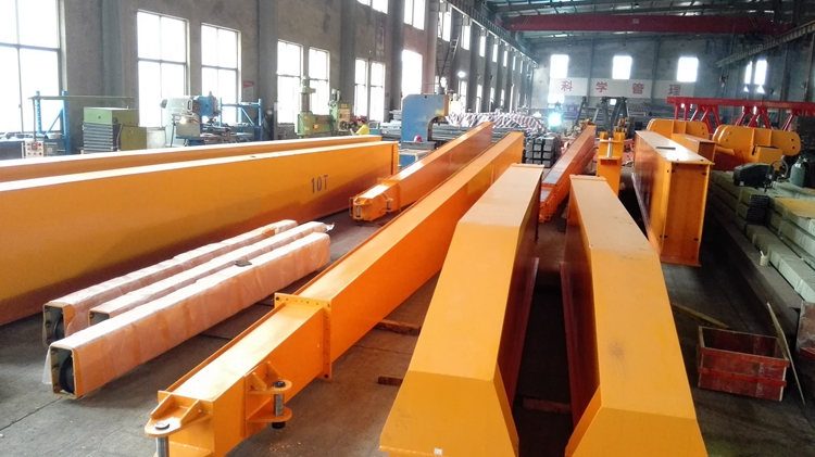Customized singel / double girder Electric Motorized Gantry Crane