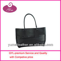 2013 promotional fashion leather woman handbag
