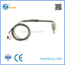 egt type gas exhaust safety valve thermocouple valves for industrial usage