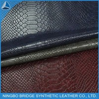 1403004-5075-12 Free Sample Available Hot Selling PU Imitation Snake Leather
