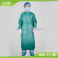 Reinforced Spunlace Disposable Surgical Gown