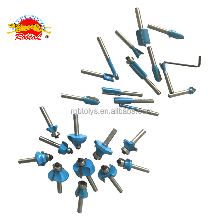 Buy Cheap Goods 45 Degree Woodworking TCT Carbide Router Bits Milling Cutters