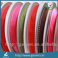 New Arrival Wholesale Stitched Grosgrain Ribbon
