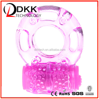 XF201 wholesale vibrating cock and ball ring, cock ring adjustable in pink color