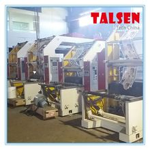 flexo printing machine,high speed 2 colors flexo printing machine for non woven fabric logo