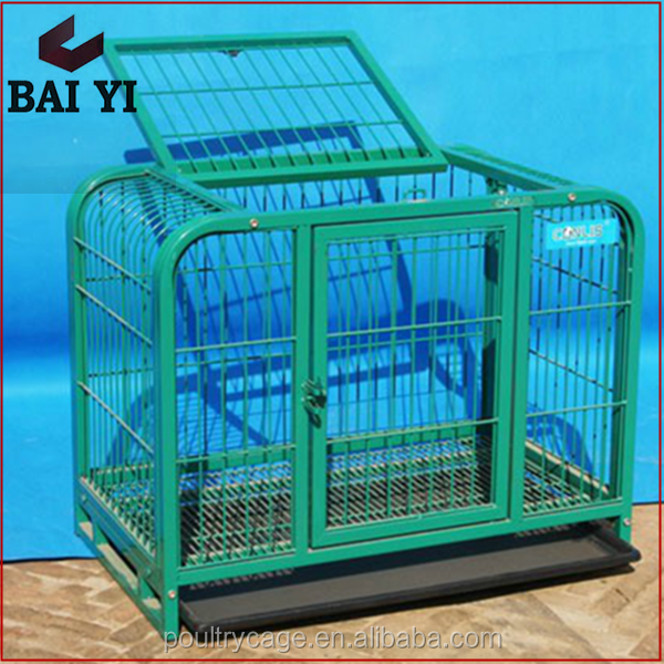 Wholesale High Quality New Design Square Tube Dog Cage