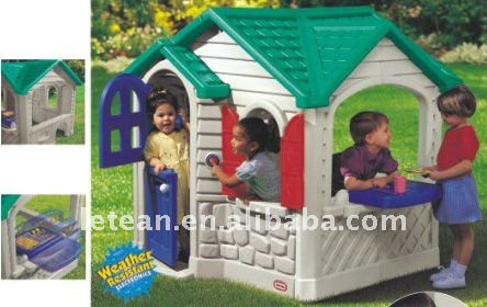 plastic baby play house