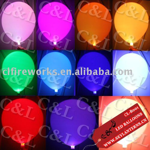 Color Changing LED Balloons