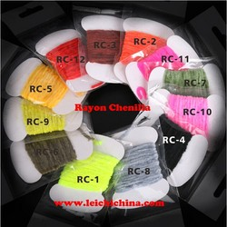 High quality Rayon Chenille fly tying materials