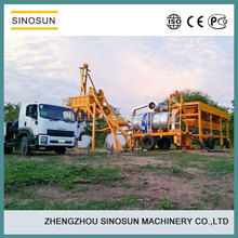 SLB8 mobile hot mix plant, asphalt plants for small business