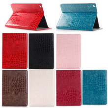 Crocodile Leather Case for iPad Pro,for iPad pro Case with stand