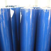 super clear transparent non sticky PVC sheet roll