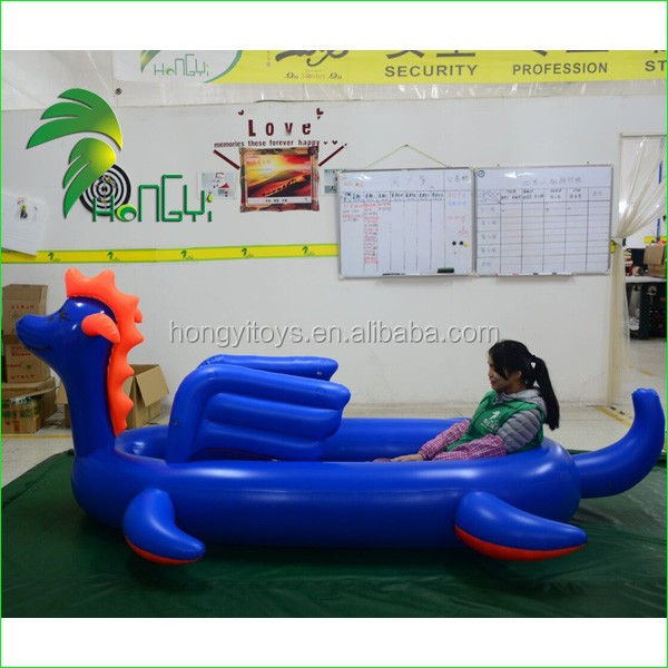 High Quality Water Products Inflatable Kayak-Nessie ,Beautiful Cartoon Toy For Sale
