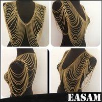 Delicate Fashion Cheap Belly Body Chain, Body Jewelry For Women
