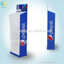 Custom Printing China factory good price cardboard display for pepsi cola