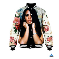 fashion design high quality sublimated printing baseball button up jacket