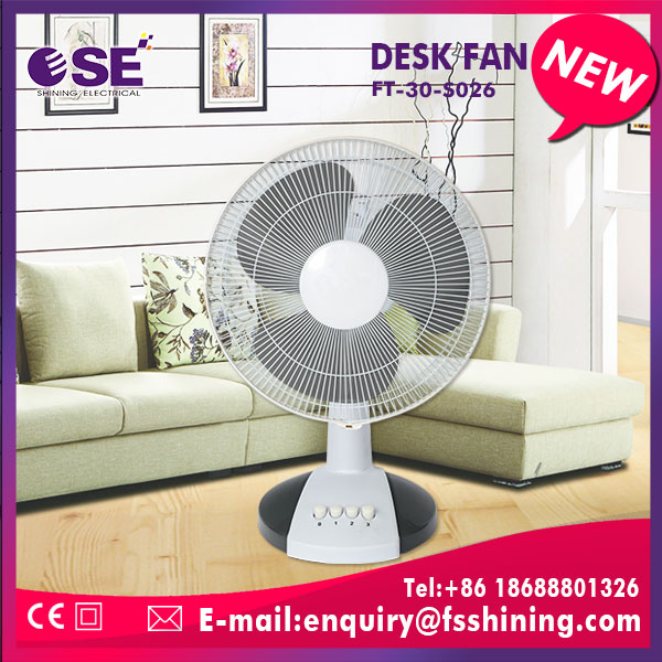 New products quiet comfortable 12 inch table fan with low noise