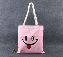 hot sale recycled promotional heavy duty standard size canvas cotton beach tote bag