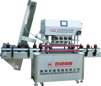 SFXG-120-8 Automatic Frequency of High Speed Capping Machine