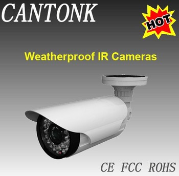 2.8-12mm Varifocal High Resolution waterproof camera,sony auto zoom cctv cameras Dustproof CCTV Camera with OSD
