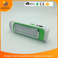 New design 3 pcs modulator tube LED rechargeable emergency light