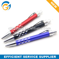 Simple Click Dot Design Metal Ball Pen