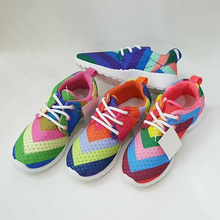 colorful boys casual running sport shoes