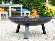 Best Portable modern backyard large steel outside outdoor fire pit