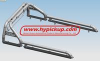 Stainless Steel single row Roll Bar for Toyota Hilux Vigo