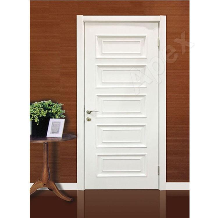 Interior Swinging Kitchen Doors: White Solid Custom Wood Interior Doors Kitchen Room Swinging Doors