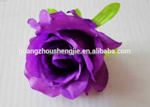 china supplier/artificial flower making/artificial silk rose flower heads decorative home