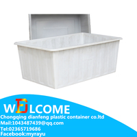 Hot Water Container Open Top Container Square Container