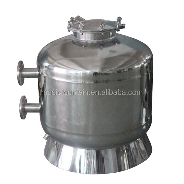 High quality filter system stainless steel swimming pool sand filter