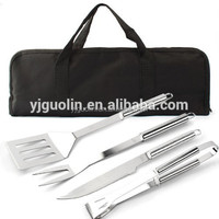 Stainless Steel BBQ Gadgets with Cloth bag