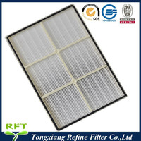 Filter fits Whirlpool 1183054K (1183054), Hepa Air Purifier Filter Fits AP350 AP450 AP510 with Plastuc Frame