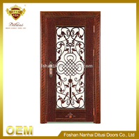 Wrought iron apartment door HL-J59