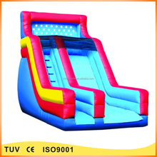 Cheap inflatable backyard big slides for sale
