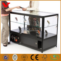Glass retail counter/glass shop cases for mobile phone repairing shop
