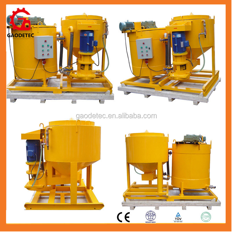 China factory manufacturer grouting equipment CE electric cement grout mixer for sale