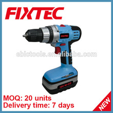 FIXTEC power craft tool 18v 1300mAh battery mini cordless drill