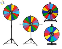 D-Master Rewriteable fortune wheel in display racks with high quality