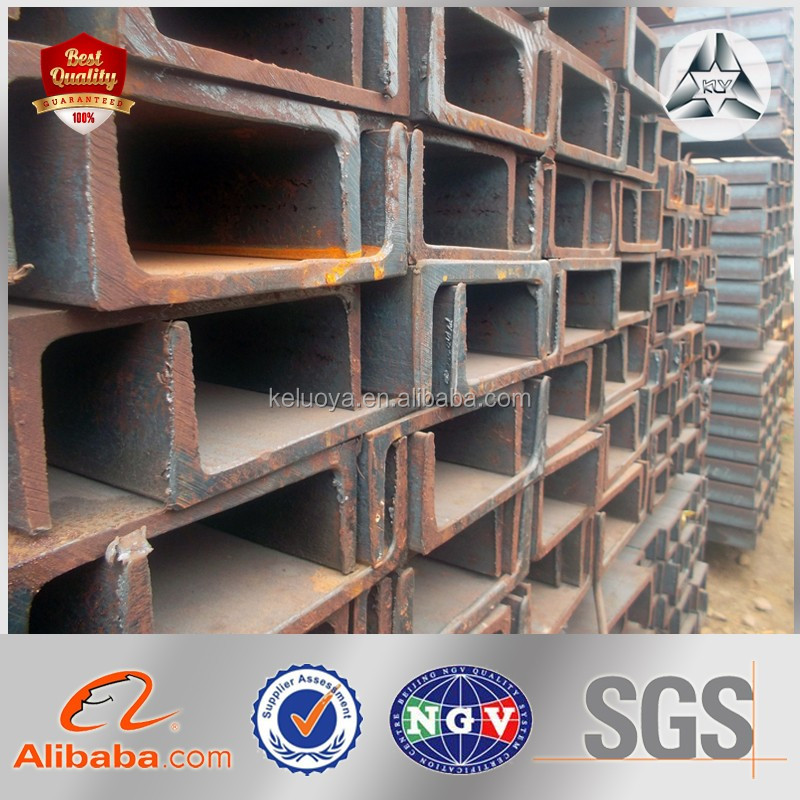 Factory Channel Bar Q235 Steel U Beam U Beam Size Steel U Channel
