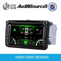 car dvd player for VW /Skoda/Seat car support OEM plug-and play installation