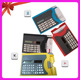Electronic Digital Name Card Holder Solar Calculator With Pen