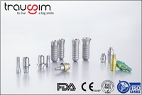 Top-seller Trausim Titanium Dental Implants, Analogs and Screws for Hospitals, Clinics and Distributors