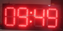 Multi function indoor or outdoor led countdown count up led digital clock for sale