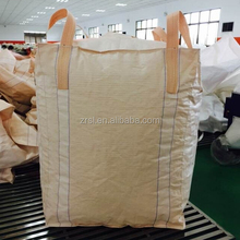 Big bag storage 1ton fibc white sugar price per ton bag polypropylene baffled bags (for food sugar maize cement sand stone,etc.)
